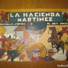 Tebeos: EL JINETE ENMASCARADO. LA HACIENDA MARTINEZ. 1 PTA. HISPANO AMERICANA DE EDICIONES. ORIGINAL.. Lote 147158494