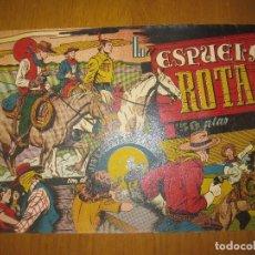 Tebeos: EL JINETE ENMASCARADO. LA ESPUELA ROTA. 1'50 PTAS. HISPANO AMERICANA DE EDICIONES. ORIGINAL.. Lote 147159010