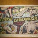 Tebeos: EL TEMPLO CAVERNICOLA. CON MERLIN EL MAGO MODERNO. HISPANO AMERICANA DE EDICIONES. ORIGINAL.. Lote 147307254
