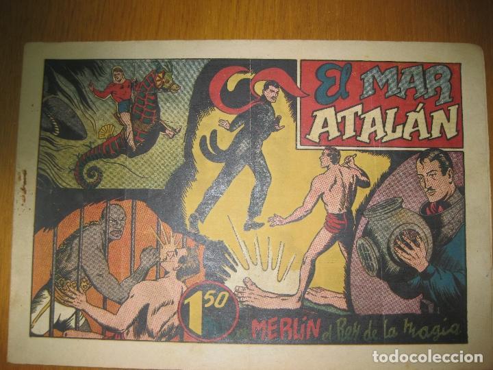 EL MAR DE ATALAN CON MERLIN EL REY DE LA MAGIA. HISPANO AMERICANA DE EDICIONES. ORIGINAL. (Tebeos y Comics - Hispano Americana - Merlín)