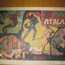 Tebeos: EL MAR DE ATALAN CON MERLIN EL REY DE LA MAGIA. HISPANO AMERICANA DE EDICIONES. ORIGINAL.. Lote 147307898