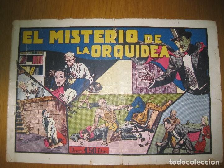 EL MISTERIO DE LA ORQUIDEA. CON MERLIN EL REY DE LA MAGIA. HISPANO AMERICANA DE EDICIONES. ORIGINAL. (Tebeos y Comics - Hispano Americana - Merlín)