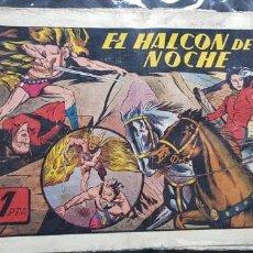 Tebeos: TEBEO / CÓMIC 1943 ORIGINAL N 17 EL HALCÓN DE LA NOCHE HISPANO-AMERICANA JORGE FÚTBOL . Lote 147587414