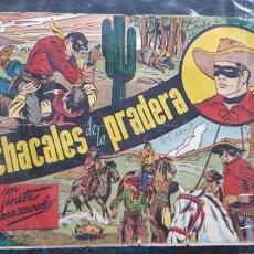 Tebeos: TEBEO 1943 ORIGINAL EL HOMBRE ENMASCARADO LOS CHACALES DE LA PRADERA HISPANO-AMERICANA GAINZA FÚTBO . Lote 147588586
