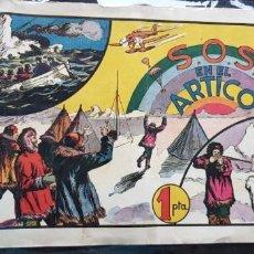 Tebeos: TEBEO / CÓMIC ORIGINAL 1944 SOS EN EL ÁRTICO N 3 ÁLBUMES PREFERIDOS POR LA JUVENTUD HISPANO-AMERICA. Lote 147620030