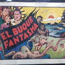 Tebeos: TEBEO ORIGINAL 1943 EL BUQUE FANTASMA N 8 HISPANO-AMERICANA ÁLBUMES PREFERIDOS POR LA JUVENTUD . Lote 147624886