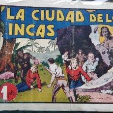 Tebeos: TEBEO ORIGINAL 1943 LA CIUDAD DE LOS INCA N 14 HISPANO-AMERICANA ÁLBUMES PREFERIDOS POR LA JUVENTUD . Lote 147625794