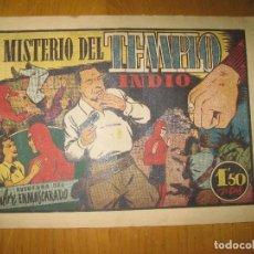 Tebeos: EL HOMBRE ENMASCARADO Nº 42. EL MISTERIO DEL TEMPLO INDIO. HISPANO AMERICANA DE EDICIONES. ORIGINAL.. Lote 147829594