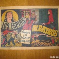 Tebeos: EL HOMBRE ENMASCARADO Nº 32. LOS ESPIAS DEL ALBATROS. HISPANO AMERICANA DE EDICIONES. ORIGINAL.. Lote 147830110