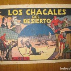 Tebeos: EL HOMBRE ENMASCARADO Nº 20. LOS CHACALES DEL DESIERTO. HISPANO AMERICANA DE EDICIONES. ORIGINAL.. Lote 147830982