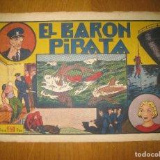 Tebeos: EL HOMBRE ENMASCARADO Nº 16.EL BARON PIRATA. HISPANO AMERICANA DE EDICIONES. ORIGINAL.. Lote 147834426