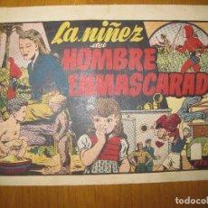 Tebeos: EL HOMBRE ENMASCARADO Nº 36. LA NIÑEZ DEL HOMBRE ENMASCARADO. HISPANO AMERICANA EDICIONES.ORIGINAL. . Lote 147835110