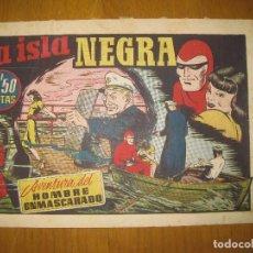 Tebeos: EL HOMBRE ENMASCARADO Nº 35. LA ISLA NEGRA. HISPANO AMERICANA DE EDICIONES.ORIGINAL. . Lote 147835682