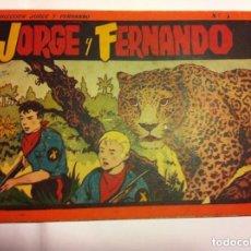 Tebeos: JORGE Y FERNANDO - ALBUM ROJO Nº. 3. Lote 147995414