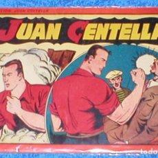 Tebeos: TEBEO COLECCION JUAN CENTELLA ALBUM ROJO Nº 11 ORIGINAL 1944 HISPANO AMERICANA DE EDICIONES RARO VER. Lote 148042562