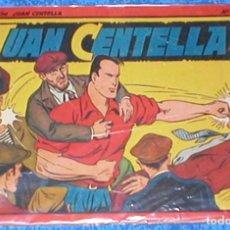 Tebeos: TEBEO COLECCION JUAN CENTELLA ALBUM ROJO Nº 14 Y ULTIMO ORIGINAL 1944 HISPANO AMERICANA DE EDICIONES. Lote 148045618