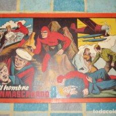 Tebeos: EL HOMBRE ENMASCARADO, 1943, ÁLBUM Nº 8, HISPANO AMERICANA, MUY BUEN ESTADO. Lote 148156894