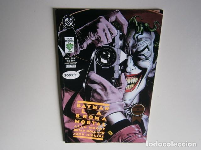 BATMAN: LA BROMA MORTAL POR ALAN MOORE, BRIAN BOLLAND - GRUPO EDITORIAL VID (1997) (Tebeos y Comics - Hispano Americana - Otros)