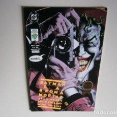 Tebeos: BATMAN: LA BROMA MORTAL POR ALAN MOORE, BRIAN BOLLAND - GRUPO EDITORIAL VID (1997). Lote 148157518