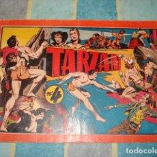 Tebeos: TARZAN, ÁLBUM Nº 4, 1944, ÚLTIMO ÁLBUM, HISPANO AMERICANA, SEÑALES DE USO. Lote 148158246