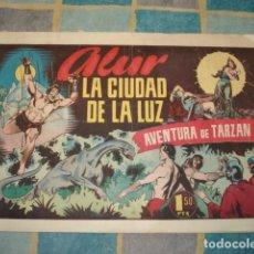 Tebeos: TARZAN 46: ALUR, LA CIUDAD DE LA LUZ, 1942, HISPANO AMERICANA, USADO. Lote 148251614