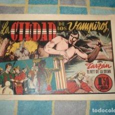Tebeos: TARZAN: LA CIUDAD DE LOS VAMPIROS, 1942, HISPANO AMERICANA, BUEN ESTADO. Lote 148251762