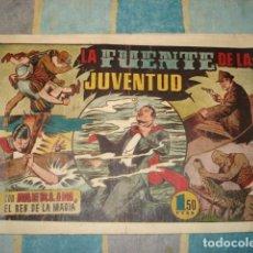 Tebeos: MERLIN 35: LA FUENTE DE LA JUVENTUD, 1942, HISPANO AMERICANA. Lote 148253890