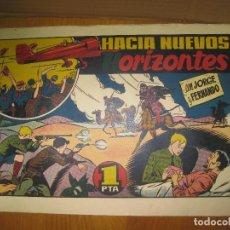 Tebeos: JORGE Y FERNANDO. HACIA NUEVOS HORIZONTES. HISPANO AMERICANA DE EDICIONES. ORIGINAL.. Lote 148296138