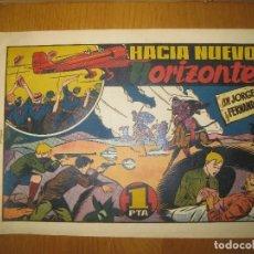 Tebeos: JORGE Y FERNANDO. HACIA NUEVOS HORIZONTES. HISPANO AMERICANA DE EDICIONES. ORIGINAL.. Lote 148296218