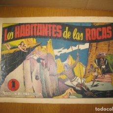 Tebeos: JORGE Y FERNANDO. LOS HABITANTES DE LAS ROCAS. HISPANO AMERICANA DE EDICIONES. ORIGINAL.. Lote 148296310