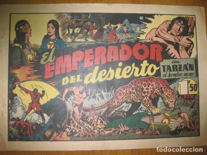 TARZAN EL HOMBRE MONO. EL EMPERADOR DEL DESIERTO. HISPANO AMERICANA DE EDICIONES. ORIGINAL. (Tebeos y Comics - Hispano Americana - Tarzán)