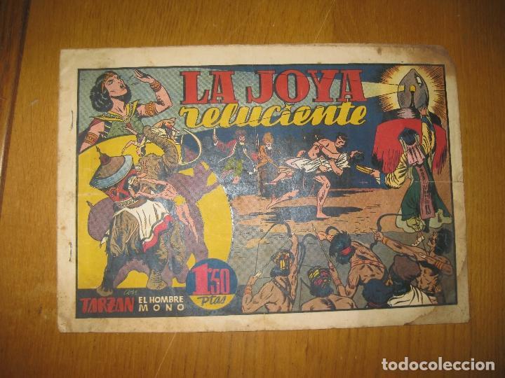 TARZAN EL HOMBRE MONO. LA JOYA RELUCIENTE. HISPANO AMERICANA DE EDICIONES. (Tebeos y Comics - Hispano Americana - Tarzán)
