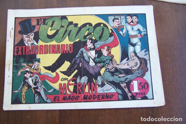 Tebeos: hispano americana, lote de merlín el mago, ver - Foto 85 - 81703172