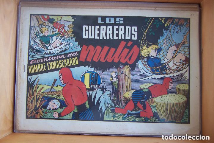 Tebeos: hispano americana, gran lote del hombre enmascarado, ver. - Foto 20 - 141162360