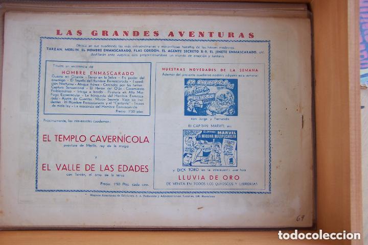 Tebeos: hispano americana, gran lote del hombre enmascarado, ver. - Foto 21 - 141162360