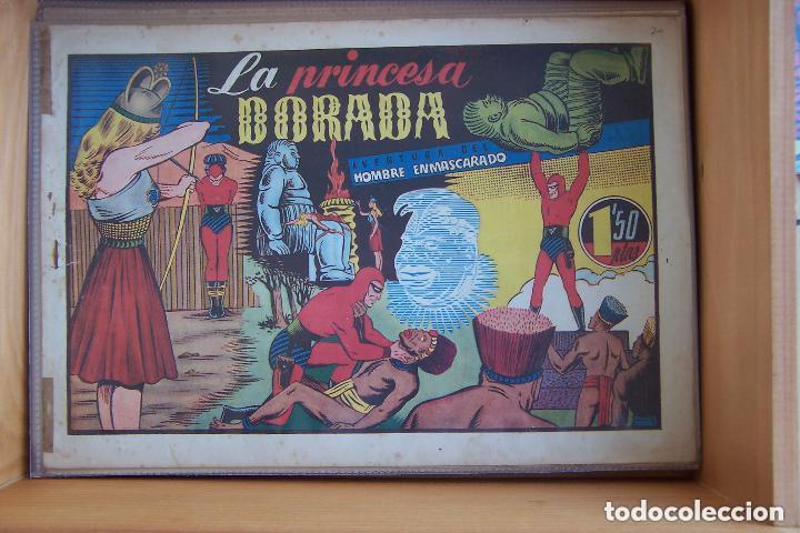 Tebeos: hispano americana, gran lote del hombre enmascarado, ver. - Foto 22 - 141162360