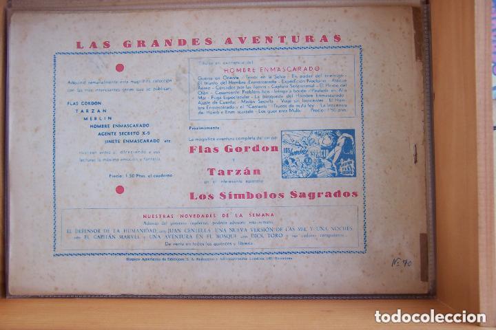 Tebeos: hispano americana, gran lote del hombre enmascarado, ver. - Foto 23 - 141162360