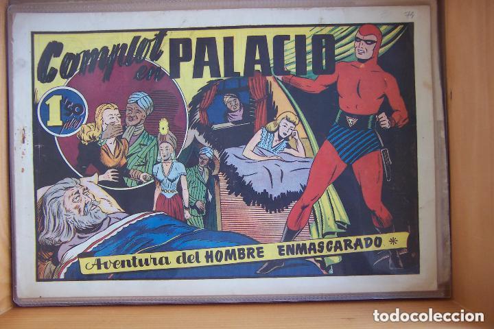 Tebeos: hispano americana, gran lote del hombre enmascarado, ver. - Foto 24 - 141162360