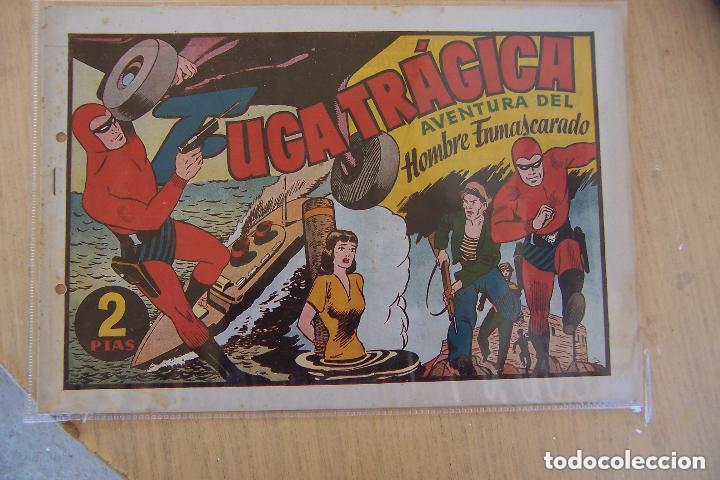 Tebeos: hispano americana, gran lote del hombre enmascarado, ver. - Foto 26 - 141162360