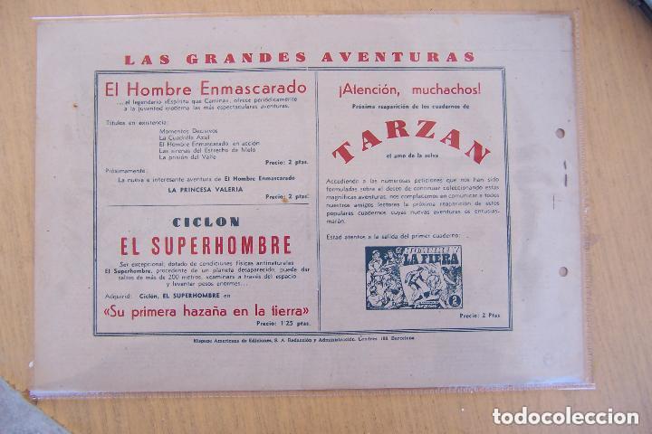 Tebeos: hispano americana, gran lote del hombre enmascarado, ver. - Foto 27 - 141162360