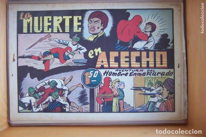 Tebeos: hispano americana, gran lote del hombre enmascarado, ver. - Foto 28 - 141162360
