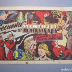 Tebeos: HOMBRE ENMASCARADO, EL (1941, HISPANO AMERICANA) 71 · 1941 · EL SECUESTRO DEL MAHARAJA. Lote 148672890