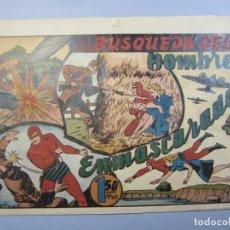Tebeos: HOMBRE ENMASCARADO, EL (1941, HISPANO AMERICANA) 62 · 1941 · LA BÚSQUEDA DEL HOMBRE ENMASCARADO. Lote 148674146