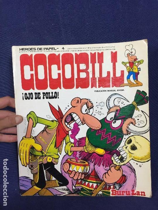 Tebeos: dos CÓMIC COCOBILL OJO DE POLLO y cocobill contra nadie BURU LAN POR JACOVITTI 1973 - Foto 2 - 148772802