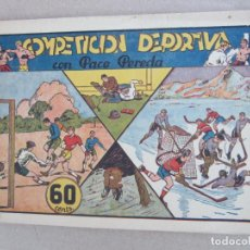 Tebeos: PACO PEREDA , NUMERO 2 COMPETICION DEPORTIVA , LYMAN YOUNG , HISPANO AMERICANA 1942. Lote 148773174