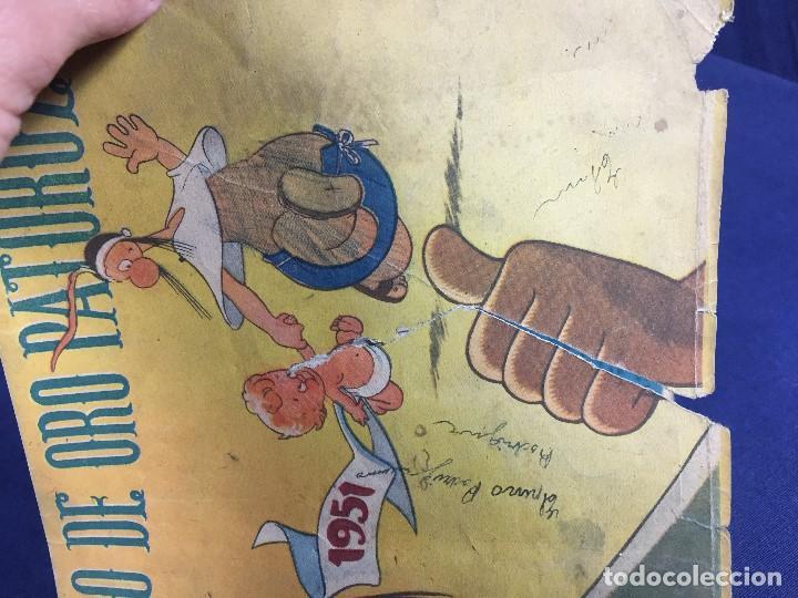 Tebeos: cómic original libro de oro patoruzú editado por Dante Quintero argentina 1951 - Foto 4 - 148779798
