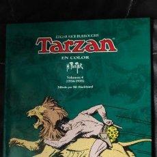 Tebeos: TARZAN EN COLOR H. FOSTER VOLUMEN Nº 4 . Lote 149959352