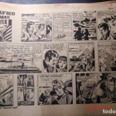 Tebeos: LOTE DE 63 COMICS DE -FLASH GORDON- SERIE -1-1958-SIN CUBIERTAS. Lote 150353218