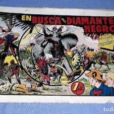 Tebeos: EN BUSCA DEL DIAMANTE NEGRO DE JORGE Y FERNANDO ORIGINAL HISPANO AMERICANA VER FOTOS Y DESCRIPCION. Lote 150571642