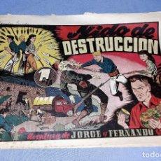 Tebeos: NIDO DE DESTRUCCION JORGE Y FERNANDO ORIGINAL HISPANO AMERICANA VER FOTOS Y DESCRIPCION. Lote 150575510